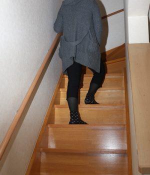 階段・エレベーターをのぼる